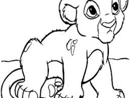 Small Picture Printable Lion Cub Coloring Pages Free Coloring Page Today