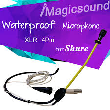 popular mini xlr wiring buy cheap mini xlr wiring lots from waterproof headset condenser microphone professional sport activity xlr 4pin mini wired mic for shure