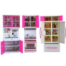 Barbie Kitchen Furniture Amazoncom My Modern Kitchen Mini Toy Playset W Lights And