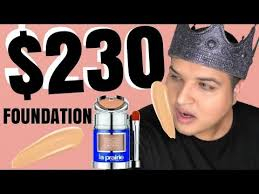 $230 Foundation Review <b>La Prairie Skin Caviar</b> Foundation ...