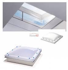 Velux Flachdach Fenster Lichtkuppel Kuppel Matt Acryl Isd 0100