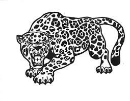 Small Picture Realistic Wild Animal Jaguar Coloring Pages Womanmatecom