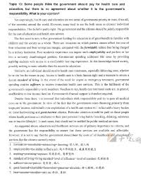 Une Academic Writing Sample Essay Academic Skills