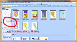 How To Make A Invitation On Microsoft Word 6 Invitation Card On Ms