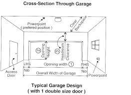 average garage door width average garage door height average garage door height average door width average