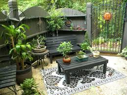 Patio Ideas 11 Patio With Mirror Small Garden Ideas David Still