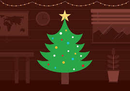 free christmas tree background. Contemporary Background Free Vector Christmas Tree Background To B