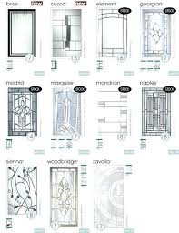 french door glass replacement front inserts