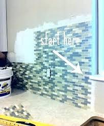 Installing Glass Mosaic Tile Backsplash Cool Ideas