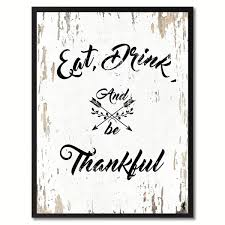 eat drink amp be thankful saying canvas print picture frame home decor  on eat drink be happy wall art with shop eat drink be thankful saying canvas print picture frame home