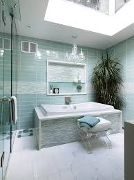 good looking crystal chandeliers method toronto contemporary bathroom image ideas with accent tile blue tile bowl sink