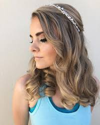 Hairstyle Cutest Prom Medium Length Hair Timeless Classic Layered