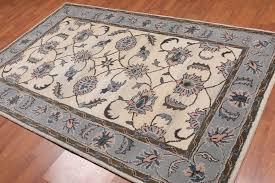 details about 5 x 8 handmade fl 100 wool persian oriental area rug 5x8