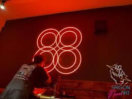 Đèn neon sign trang trí | Đèn led neon sign ⚡️ • Khách hàng: Bloom Groom  Spa • Kích thước: 1000mm x 1000mm • Hạng mục: Đèn Led neon sign •…