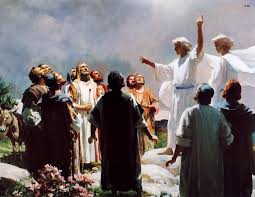 Image result for the lord was received into heaven