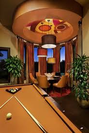 Accessories: Billiard Table With Entertainment Room - Billiard Tables