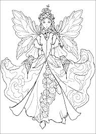 Small Picture Detailed Fairy Coloring Pages Coloring Page For Kids Kids Coloring