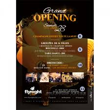 bar grand opening flyer grand opening onstage flyer designed by flynight