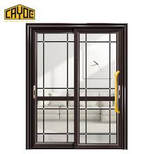 security glass leaf double swing door sliding door materials interior