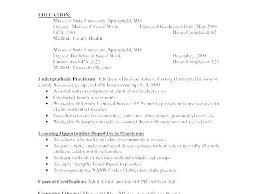 Social Worker Sample Resume Mazard Info