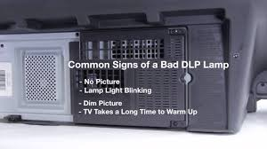 mitsubishi dlp tv repair bad dlp lamp how to fix common dlp lamp issues in mitsubishi dlp tvs you