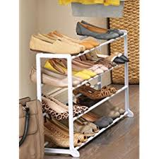 Just The Right Shoe Display Stand Amazon Whitmor 100 Tier Floor Shoe Rack 100 Pair Storage 89