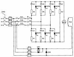 electrical and electronic drawing industrial controls part 2 40 schematic of an scr variable speed drive for dc motors general electric company