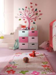 decorations stunning baby nursery with wall decals and flower area rug stunning baby nursery with
