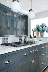 blue painted kitchen cabinets. Kitchen Cabinet Ideas Blue Cupboard Paint Best Painted Cabinets On Grey Home Decor White Shaker P