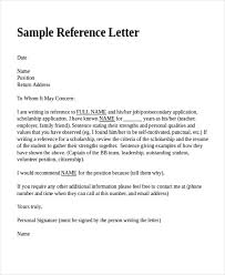 samples of a letter of recommendation example of reference letter sample letters recommendation recent