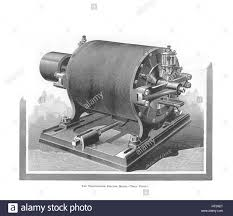 nikola tesla alternating current. the westinghouse alternating current motor by nikola tesla, 1888-1889. artist: anonymous tesla \