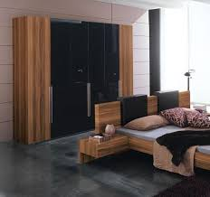 Perfect Bedroom Wardrobe Cabinets With Wooden Finishes