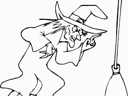 Witchcraft Coloring Pages For Adults With Witch At Getcolori For