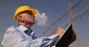 engineer looking at wiring diagrams next to electrical substation supervisor manager high electricity specialist check energetic infrastructure ultra high definition ultrahd ultra