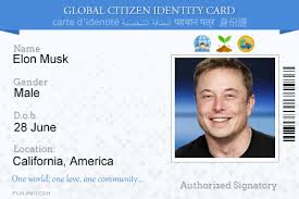 Id com Online Card Global – Funjaki Citizen Generator
