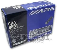 alpine cda 9851 (cda9851) all car stereos sonic electronix alpine cda-9851 wiring harness at Alpine Cda 9851 Wiring Harness