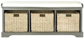 wicker storage bench wing outdoor by christopher knight home