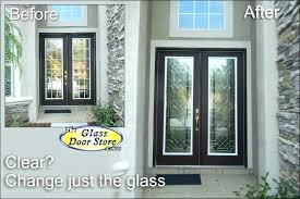 various replace glass exterior door glass replacement for front door incredible glass front doors intended for