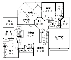 luxury one story house plans for fresh 40 of attractive best house plans 4 bedrooms one