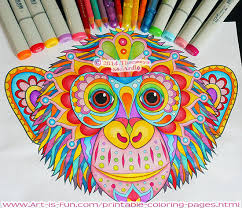 Small Picture Groovy Animals Coloring Pages Art is Fun