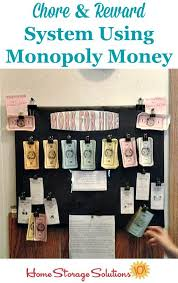 Chore Chart With Money Reward Create Kids Chore Chart To Get Whole Family Involved In