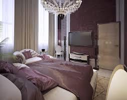 Purple Bedroom Unique Decoration