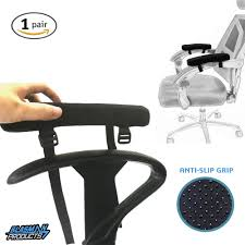 get ations memory foam armrest pads for home office chair anti slip gripped cushions for desk