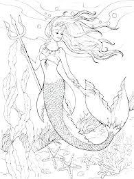 Barbie Mermaid Coloring Pages To Print Barbie Mermaid Coloring Pages