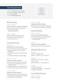 Lebenslauf Muster F R Ingenieur Lebenslauf Designs