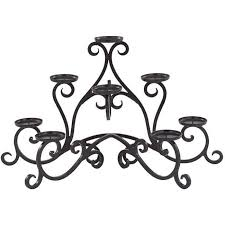 7 candle fireplace candelabra