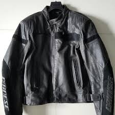 dainese razon perforated leather motorcycle jacket car accessories on carou