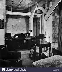 Winston Churchills Büro Und Schlafzimmer In Den Unterirdischen