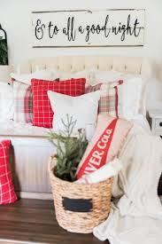 Christmas Signs A Cozy Cheerful Farmhouse Christmas Bedroom Christmas Bedroom