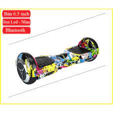 Xe điện tự cân bằng bánh xe cỡ lớn 6.5 inch | Có Nhạc - Bluetooth tại Thanh  Hóa